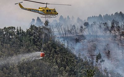 The Overberg feels the threat after more than 40 wildfires